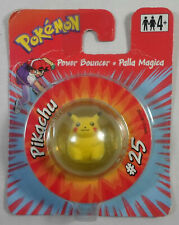 NINTENDO 1999 POKEMON POWER BOUNCER PIKACHU # 25 COLLECTOR's FIGURE MOSC SEALED