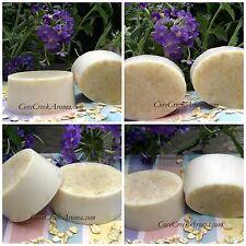 Oatmeal Milk & Honey Bar Soap Handmade with Creamy Goat Milk