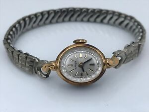 Timex Vintage Watch Ladies Hand Winding Expandable Band Analog Wrist Watch