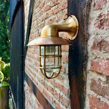 Schicke Schiffslampe - Lampe Gartenhaus Aussenleuchte Haustür Kupfer und Messing