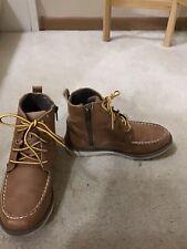 CREVO Kids Boys Light Brown Boots 2