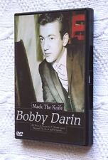 BOOBY DARIN-MACK THE KNIFE (DVD+BOOKLET) R-ALL, LIKE NEW, FREE POST IN AUSTRALIA