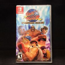 Street Fighter 30th Anniversary Collection (Switch) BRAND NEW / Region Free