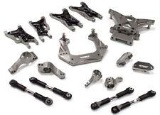 Integy Billet Machined Suspension Kit for Traxxas 1/10 Nitro Slash 2WD Grey