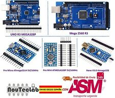 MCU Controller Kit for Arduino with MEGA 2560 UNO R3 Nano V3 Pro Mini Pro Micro