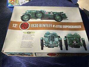 Model kit car - airfix 1930 Bentley 4.5 litre  supercharged