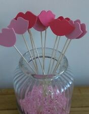 Photo Booth Props-12 x Lips Wedding/Party Decor/Hen/Favour READY TO USE!!