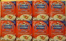 (8) CREAM OF WHEAT INSTANT HOT CEREAL ORIGINAL FLAVOR W/ IRON