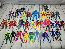 Marvel ToyBiz Vintage 90s X-Men Avengers Spiderman Action Figures Lot of 30+