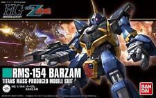 Bandai Hguc Zeta Gundam Barzam Rms-154 #204 1/144 Model Kit - New in Stock