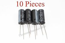 10 pcs Capacitor Rubycon 1500uF 10v 105C 10x23mm. Radial. US Seller