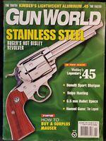 Gun World Magazine November 1998 Stainless Steel Legendary .45