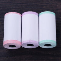 3 Rolls Lace Printing Paper 57*30mm Fit for Portable PAPERANG P1 Printer