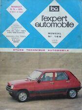 Revue technique RENAULT 5 TL GTL 1227 1397 1300 AUTOMATIC RTA EXPERT N° 166 1980