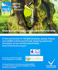 RSPB Pin Badge | Green Woodpecker | Sherwood Forest partnership [01186]