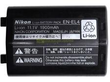 Batteria Nikon EN-EL4 1900 MAh, 11,1V per D2H D2Hs D2X D2Xs D3 D3s |D3x F6.