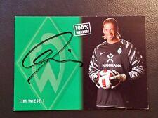 SV Werder Bremen 10/11  * Tim Wiese * orign.sign.