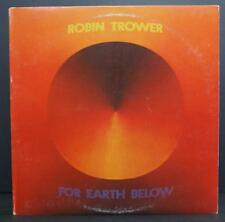 ROBIN TROWER - FOR EARTH BELOW - ROCK VINYL LP