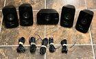 Set of 5 Logitech Z906 5.1 Surround Speakers THX Dolby Digital DTS & OEM Wires