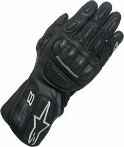 Womens Alpinestars Motorbike Gloves Stella SP8 V2 Road Sport Motorcycle Black M