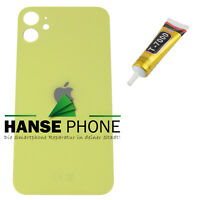 iPhone 11 - Backcover Glas Akkudeckel Back cover Rückseite Rückglas Gelb Yellow