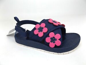 """New Carters """"Ready to Wear""""  Toddler Baby Girls' Sandals Size 8 T,  Display 1711"""