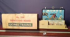Lionel Trains 334 Operating Dispatching Board Accessory **