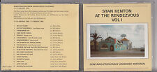 Stan Kenton And His Orchestra. Stan Kenton At The Rendezvous Vol 1 1989 JZ2.31