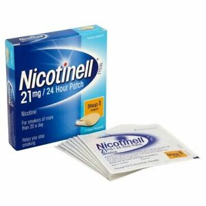 Nicotinell Step 1 Patches, 7 Patches (21 mg) Only £8.99