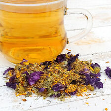 Good Mood Dried Flowers Herbal Loose Tea Tisane Finest Blend Caffeine Free 20g