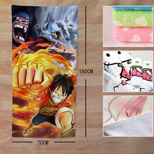 Neu ONE PIECE Anime Manga Badetuch Strandtuch Handtuch Bath Towel 150x70CM 006