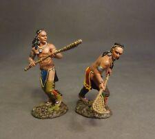 JOHN JENKINS MONONGAHELA WIM-15 WOODLAND INDIAN LACROSSE PLAYERS #3 MIB