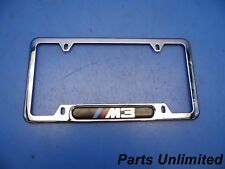 00-05 BMW 3 Series E46 M3 OEM licence plate frame trim chrome