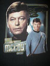 Dr Leonard Knochen Mccoy Star Trek T-Shirt Retro 70s Deforest Kelley Adult M