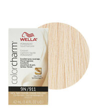 Wella Color Charm Permament Liquid Hair Color 42mL Very Light Blonde 911 9N