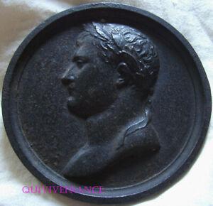 Medallion Emperor Napoleon A THE ANCIENT Cast-Iron