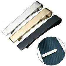 Top Premium Slim Skinny Regular Ties Necktie Clasp Mens Tie Clip Bar Stylish