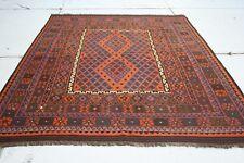 12'11 x 8'1 Large Handmade Afghan Wool Kilim Area Rug Kelim Oriental Carpet 3676