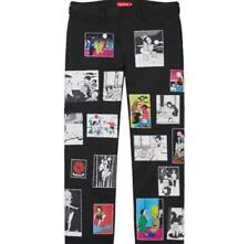 New! Supreme Saeki Toshio Work Pants Size S(30) Black
