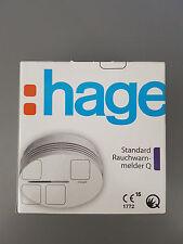 Hager Rauchwarnmelder TG600AL Standard Q weiss TG 600 AL Li-Batterie 10 Jahre