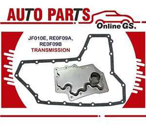 JF010E RE0F09A RE0F09B TRANSMISSION FILTER GASKET for 03-16 NISSAN ALTIMA MAXIMA