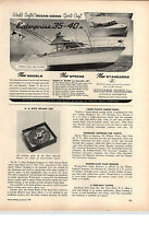 1959 PAPER AD Enterprise Marine Motor Boats Ocean Going Sports Craft 35-40