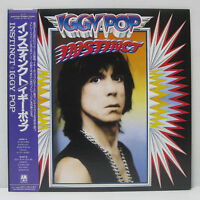 IGGY POP - Instinct LP 1988 Japan Press Steve Jones Bill Laswell Stooges w/ obi
