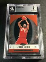 LEBRON JAMES 2006 TOPPS FINEST BASE CARD MINT BGS 9 CLEVELAND CAVALIERS NBA