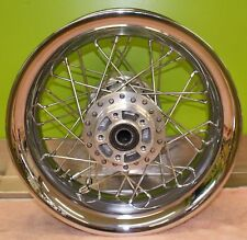 Harley Davidson FLH Laced rear wheel 16 x 5 Smoothie Nice! USED 43566-11