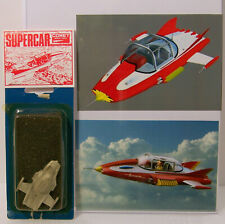 Comet Miniatures Supercar Model Kit Gerry Anderson Tv Show White Metal England