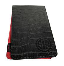 GolfInRed Leather Golf Scorecard Holder & Yardage Book Cover