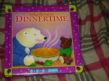Dinnertime Baxter Bear Chubby by Trace Moroney 2008 Hardback