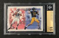 New England Patriots Tom Brady 2000 Skybox Dominion #234 BGS 9.5 Gem Mint Rookie