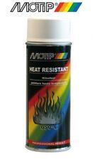 Bombe spray peinture motip blanc haute température 800° Echappement pot paint